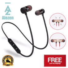 Alezen Wireless Bluetooth Earphones with Magnetic Function