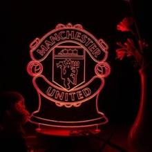 Manchester United LED 3D Model