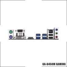 Gigabyte GA B450M GAMING (rev. 1.0) AMD B450 /2-DDR4 DIMM /M.2 /USB3.1 /Micro-ATX /New / Max-32G  Double Channel AM4 Motherboard