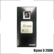 AMD Ryzen 5 2600 R5 2600 3.4 GHz Six-Core Twelve-Thread CPU Processor YD2600BBM6IAF Socket AM4