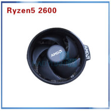 New Seal BOX  AMD Ryzen 5 2600 R5 2600 3.4 GHz Six-Core Twelve-Core 65W CPU Processor YD2600BBM6IAF Socket AM4 with cooler fan