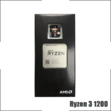 AMD Ryzen 3 1200 R3 1200 3.1 GHz Quad-Core Quad-Thread CPU Processor L2=2M L3=8M 65W YD1200BBM4KAE Socket AM4 New and with fan