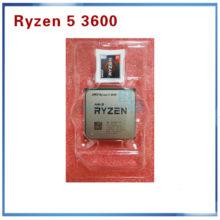 New AMD Ryzen 5 3600 R5 3600 3.6 GHz Six-Core Twelve-Thread CPU Processor 7NM 65W L3=32M 100-000000031 Socket AM4