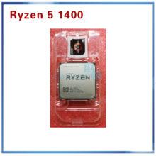 New AMD Ryzen 5 1400 R5 1400 R5-1400 3.2 GHz Quad-Core CPU Processor YD1400BBM4KAE Socket AM4